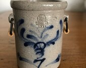 Rowe Pottery 2.5 quot Tall Crock
