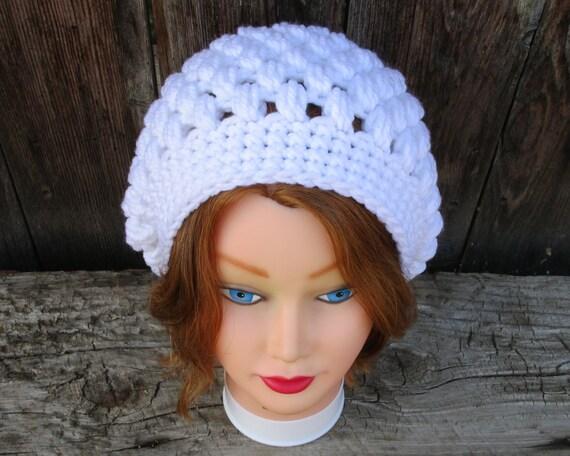 Lässige Mütze häkeln Hut, Damenhut, Tweed Damen Mütze häkeln Slouchy, Hut, geh super Winter Hüte für Frauen