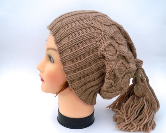 PDF PATTERN ONLY Cowl / Hat Knitting Patterns For Women   Etsy
