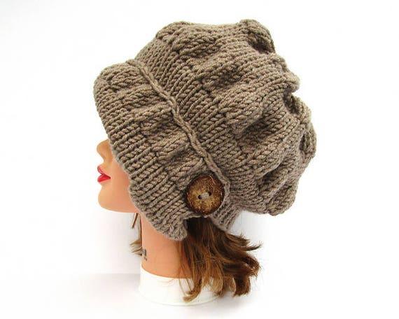 Pdf Pattern Only Hat Knitting Pattern Hat Patterns For Etsy