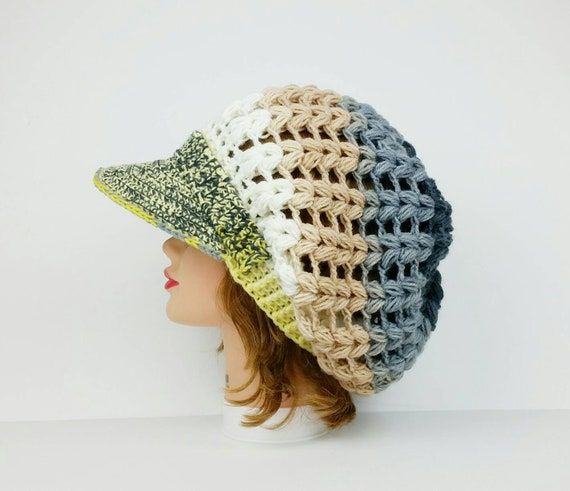 6226037ff25 Newsboy Cap Hats For Women Crochet Hat Women s Hats