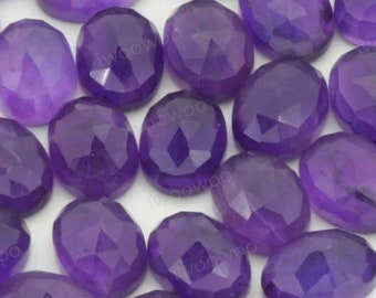 Large Hexagon Gem Flat Back Jewel 85mm or 3.33 Jewelry Amethyst Cabochon for Costume Cosplay Gem