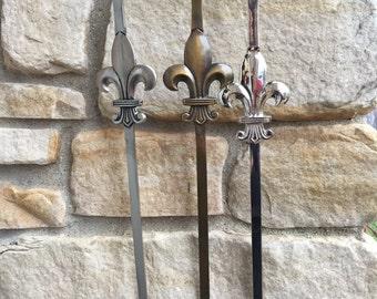 Wreath Holder Decorative Hangers Accessories for Wreaths Fleur de Lis Wreath Holder Door Hook Bronze Door HookNickel Door Hook & Wreath holder | Etsy