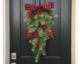 christmas swag wreath swag wreath wreath christmas swag swag wreath christmas christmas wreath swags front door christmas swags - Christmas Swag Decorations