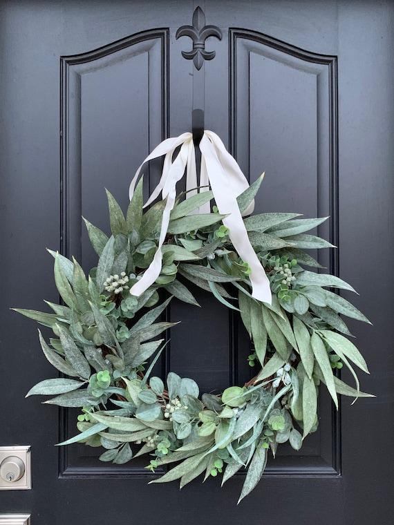 Summer Wreaths Spring Wreaths For Front Door Summer Wreaths Etsy
