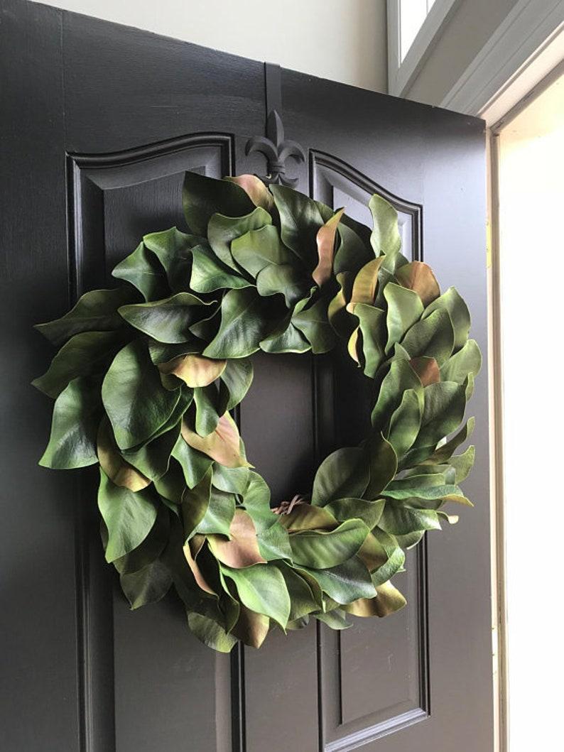 Magnolia Wreath Everyday Magnolia Wreaths for Front Door image 1