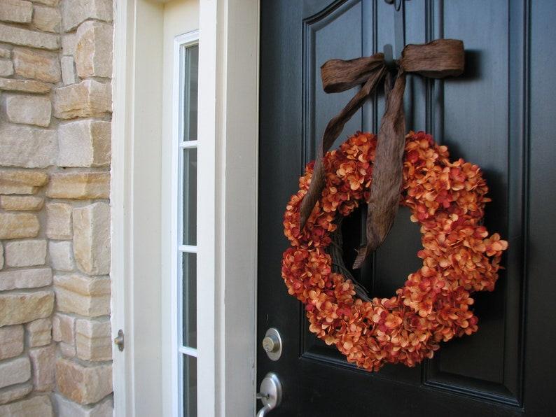 Pumpkin Patch Holidays Fall Wreath Autumn Wreaths Front Door Wreaths Orange Pumpkins Fall Wreaths Harvest Pumpkin Wreath Fall Decor