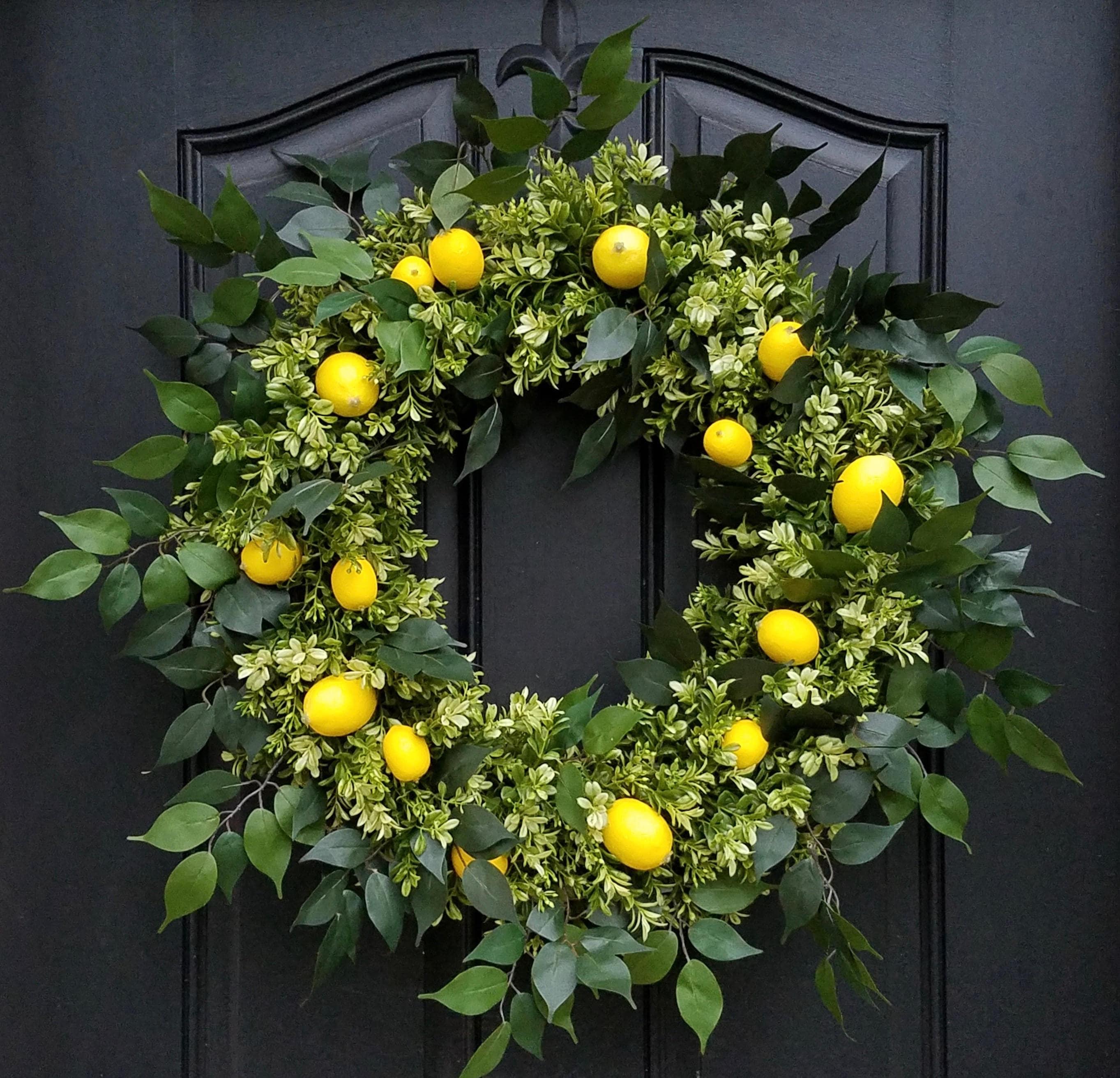 Floral Wreath Cross Stitch