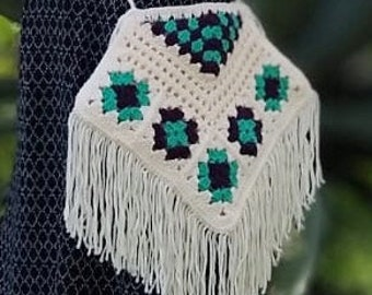 Granny Square Boho Bag Crochet Pattern DIY Tutorial PDF festival Bag Coachella Crochet instructions only