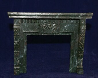 1:12 Scale Fireplace Mantel - Leaves and Cherubs (LC1)