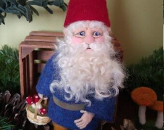 Naald vilten Gnome Art Doll