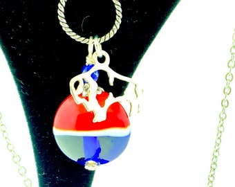 Buffalo Bills pendant necklace