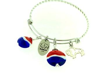 Buffalo Bills bangle bracelet - stainless steel