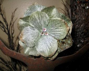 Greensleeves Flower Hair Clip
