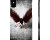Resilient Red Angel - Case Mate Slim Phone Cases