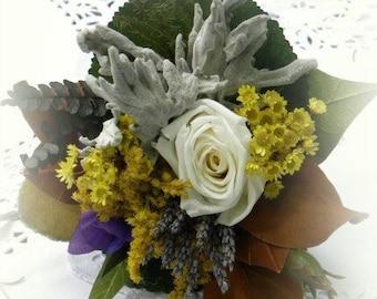 Hopeful  & Best Wishes Gift Victorian Tussie Mussie Bouquet Language of Flowers