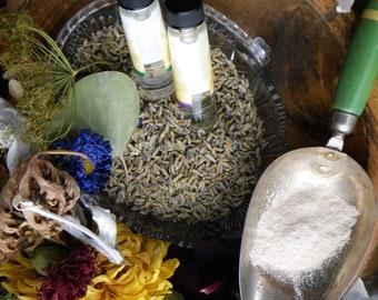 Make Your Own Potpourri- Aromatherapy-Sachets