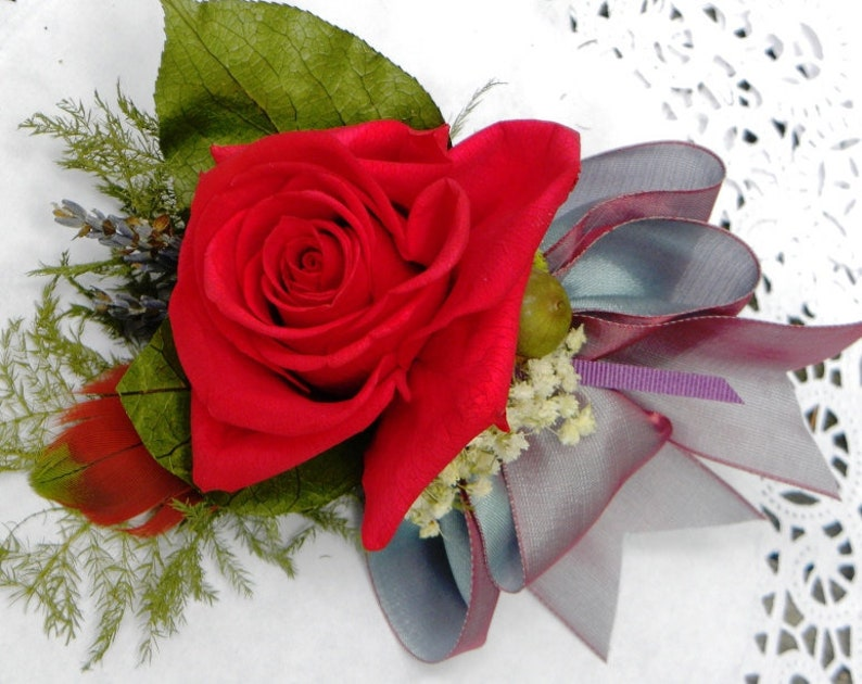 Special Occasion Or Birthday Gift Corsage Bouquet Language of image 0
