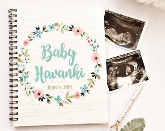 pregnancy journal etsy