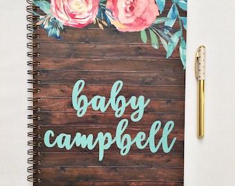 Pregnancy diary, pregnancy planner, pregnancy journal, maternity diary, mom to be gift, maternity planner, pregnancy tracker