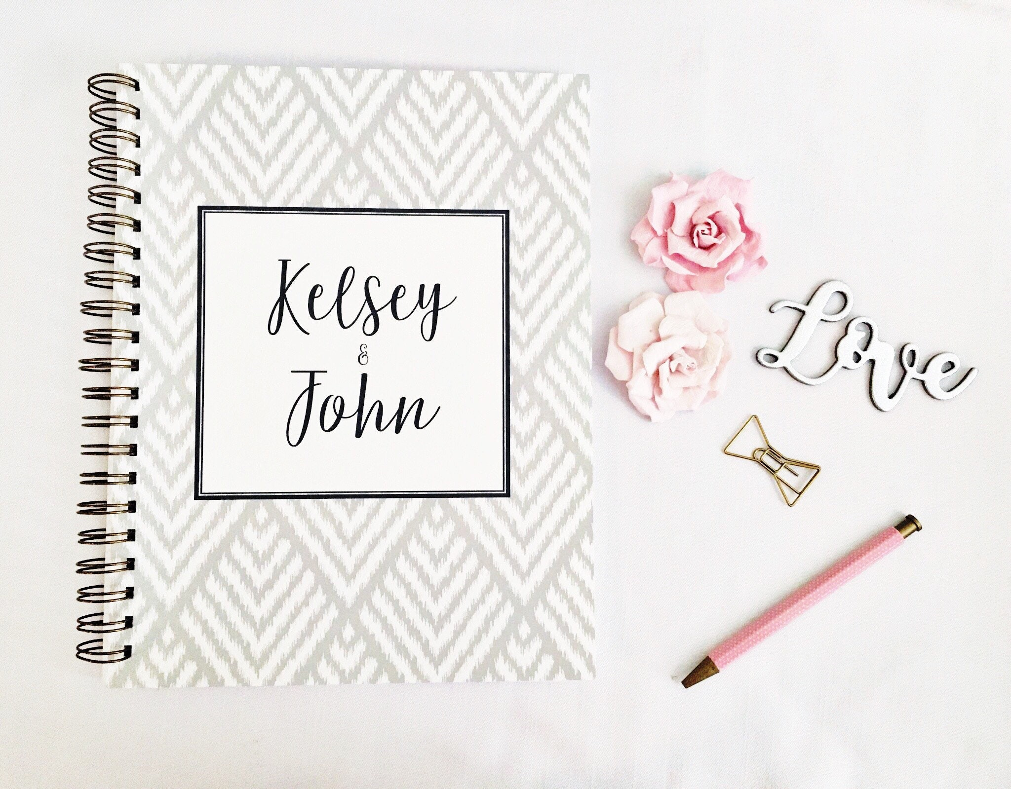 Gifts For A Wedding Planner: Personalized Wedding Planner Book Bridal Planner Wedding