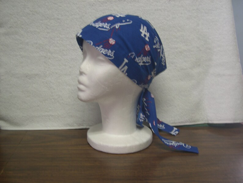 f56a72ff242 LA Dodgers Skull Cap Do-Rag NEW