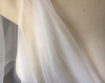 39f52a0a13 IVORY English Net for Bridal, Veils, Lyrical Dance, Skirts, Gowns