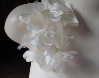 Silk Organza Flowers Etsy
