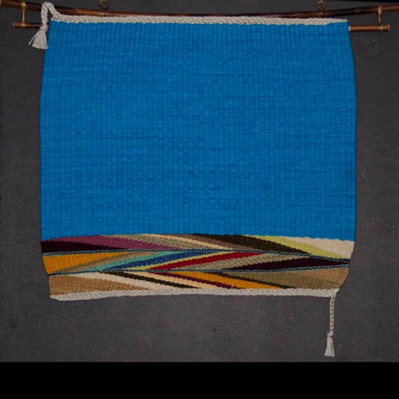 Navajo Wedge Weave Tapestry Wall Hanging image 0