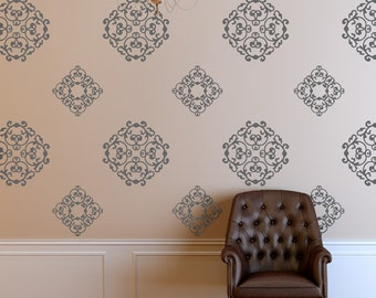 Vinyl Wall Decal Classic Medallions