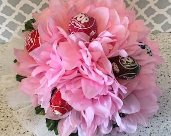 Pink Lollipop Bouquet, Dance Recital Bouquet