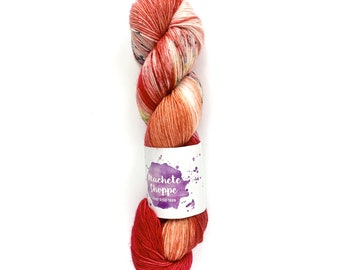 Red Dragon - Machete Shoppe Simple Sock   destash