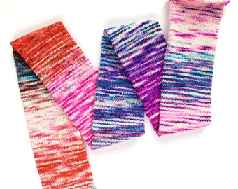 OOAK (one of a kind) - plank & stella sparkle sock   destash