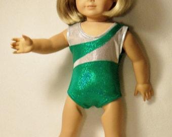 18 inch Doll Sleeveless Gymnastic Performance Leotard