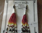 SALE Cone Looped Seed Bead Earrings 7.32