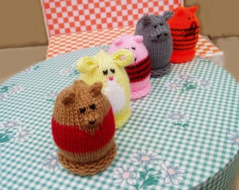Bear and Friends Egglet Set (Includes 5 different egglets)