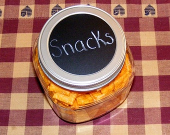 Chalk Labels Set  Circles and Ovals, chalkboard labels jars
