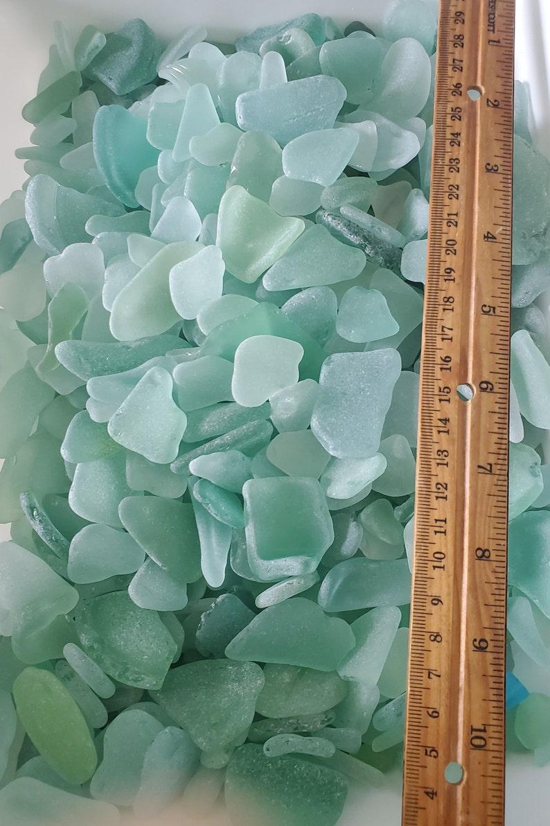Hawaiian seaglass bulk sea glass aqua white brown green image 0