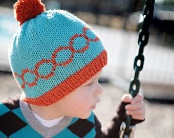 """Mod Circle Hat Size Child (18"""" Finished Circumference)"""