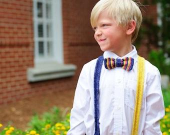 Sunday Best Bowtie & Suspenders Original Sample