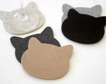 5mm Wool Felt Coasters