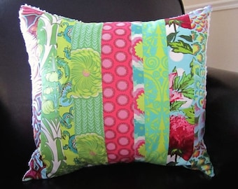Amy Butler Patchwork Pillow Covers -- Custom for Kim