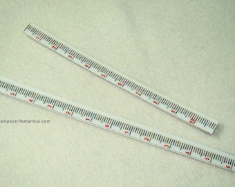 Set of 2 Vertical rulers for Temari-making