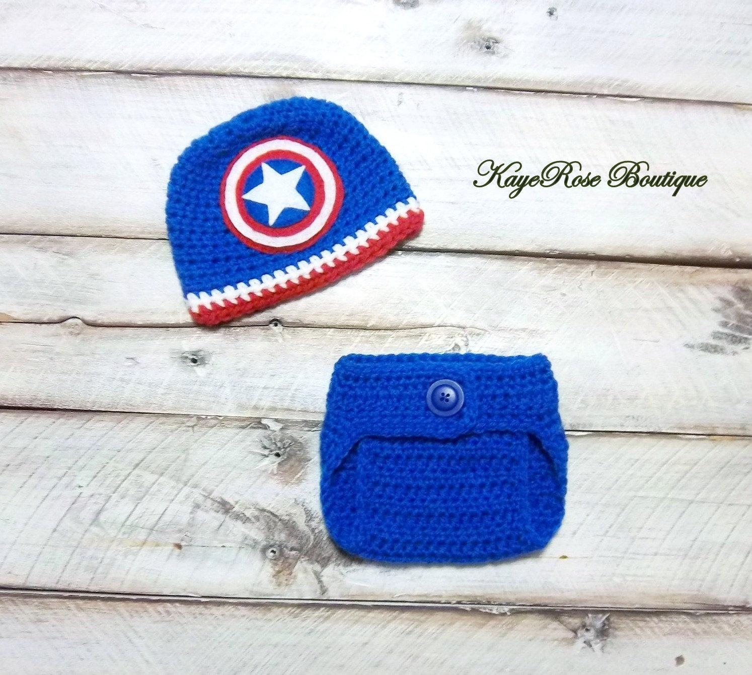 Pañal y Capitán América inspirado a tres meses de edad bebé | Etsy