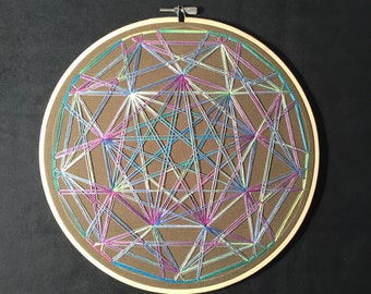 Neon Nonagon