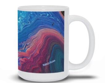 Abstract Art On A Mug 2