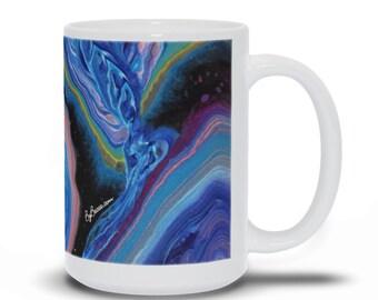 Turquoise Stone Mug 04