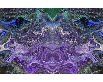 Chewbacka Digital Print Abstract Art