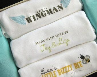 simplewear - 3 pack set of baby bodysuits