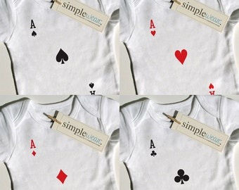 4 of a kind baby bodysuit for quadruplets